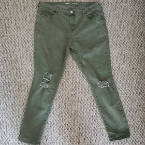 Old Navy Rockstar Distressed Pants
